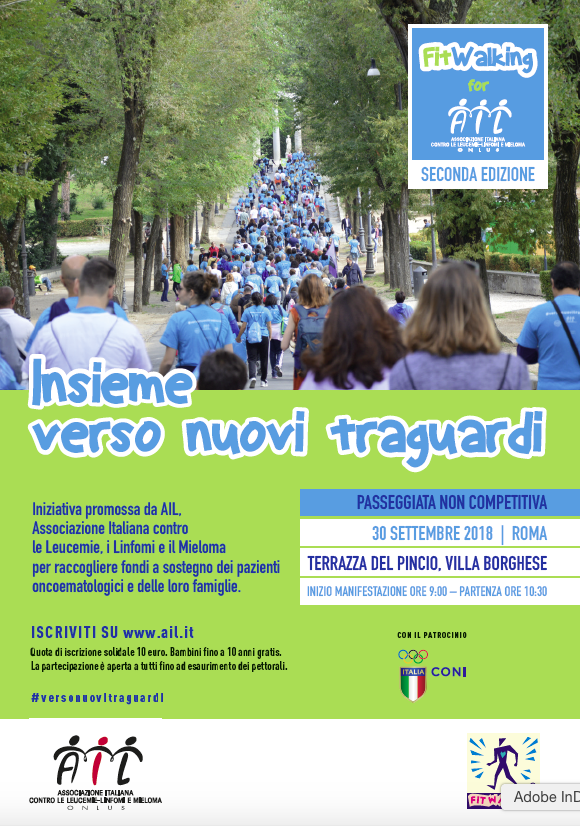 VILLA BORGHESE: FITWALKING SOLIDALE